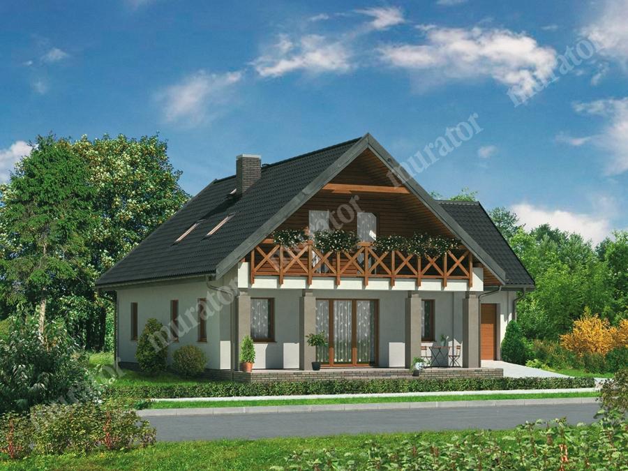 Проект дома 230 м2 - в сторону солнца м34 муратор - купить в.