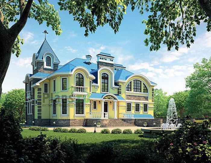 Проекты домов 2000 кв м